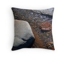 The Gentle Stream Throw Pillow