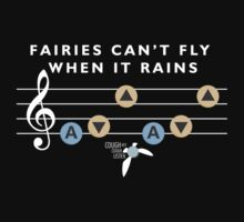 Fairies Can't Fly When It Rains Kids Clothes