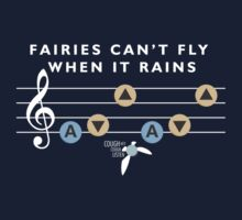 Fairies Can't Fly When It Rains by RetroReview