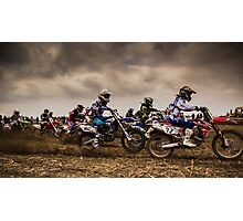 Riders of Kachtem! Photographic Print