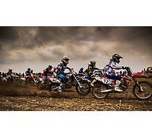 Riders of Kachtem! Photographic Print