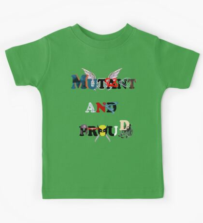Mutant and proud Kids Tee