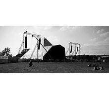 Pyramid Stage, Glastonbury Festival Photographic Print