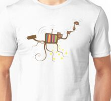 Spy octopus Unisex T-Shirt