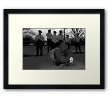 Our voices shall not be silenced   Framed Print