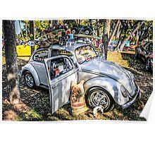Volkwagon Beetle Poster