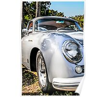 1956 Porsche 356A 1600s Speedster German Sports Car Poster