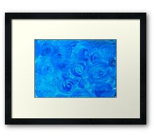 The Blue Cabbage Patch Framed Print