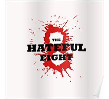 The Hateful Eight logo 8 blood Poster