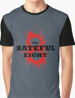 The Hateful Eight logo 8 blood Graphic T-Shirt