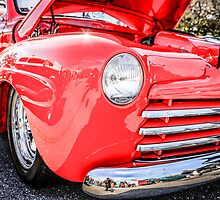 1948 Ford Coupe Custom American Classic Car by Chris L Smith