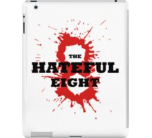 The Hateful Eight logo 8 blood iPad Case/Skin