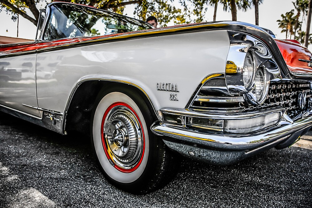 1959 Buick Electra Convertible American Classic Car by Chris L Smith