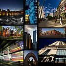 A Photo collage of Chicago Architecture by Sven Brogren
