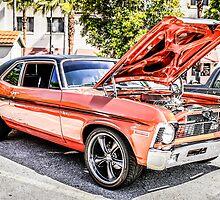 1970 Chevrolet Chevy Nova SS American Classic Car by Chris L Smith