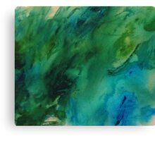 The Under Water treasure Canvas Print