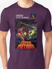 Super Metroid Nintendo Super Famicom Japanese Box Art Shirt (SNES) Unisex T-Shirt