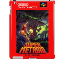 Super Metroid Nintendo Super Famicom Japanese Box Art Shirt (SNES) iPad Case/Skin