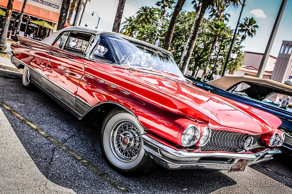 1963 Buick Le Sabre American Classic Car by Chris L Smith