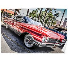 1963 Buick Le Sabre American Classic Car Poster