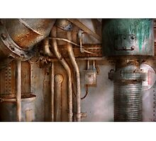 Steampunk - Plumbing - Industrial abstract  Photographic Print