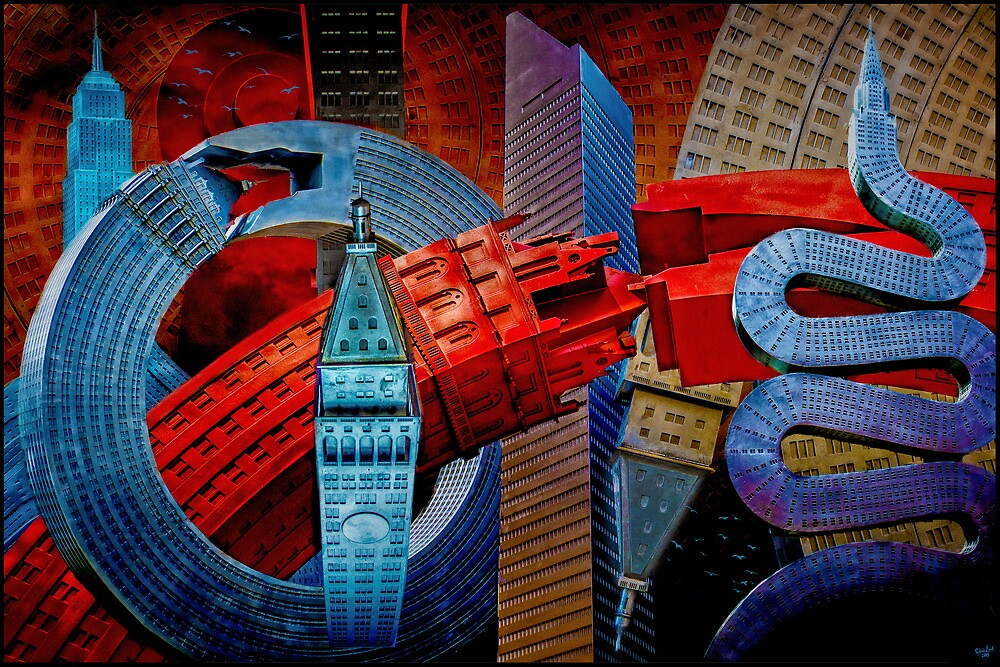 Sculpture City by Chris Lord