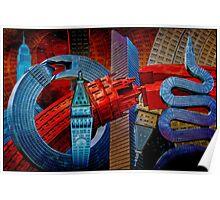 Sculpture City Poster