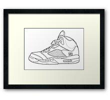 Air Jordan Monro 2015 Framed Print