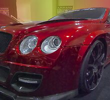Bentley In Red by barkeypf