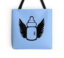 Angel Baby bottle Tote Bag