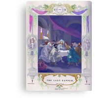 The Last Supper after Rubens. Canvas Print