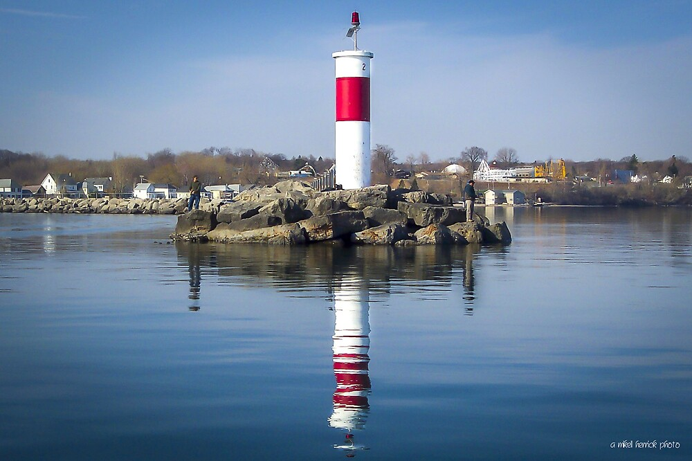 Irondequoit Light by Mikell Herrick
