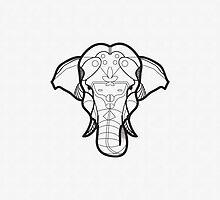 Elephant by Aaron Thadathil