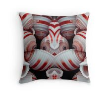 Jammie Shells Throw Pillow