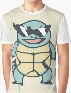 Ash's Squirtle (Squirtle Squad Leader) Graphic T-Shirt