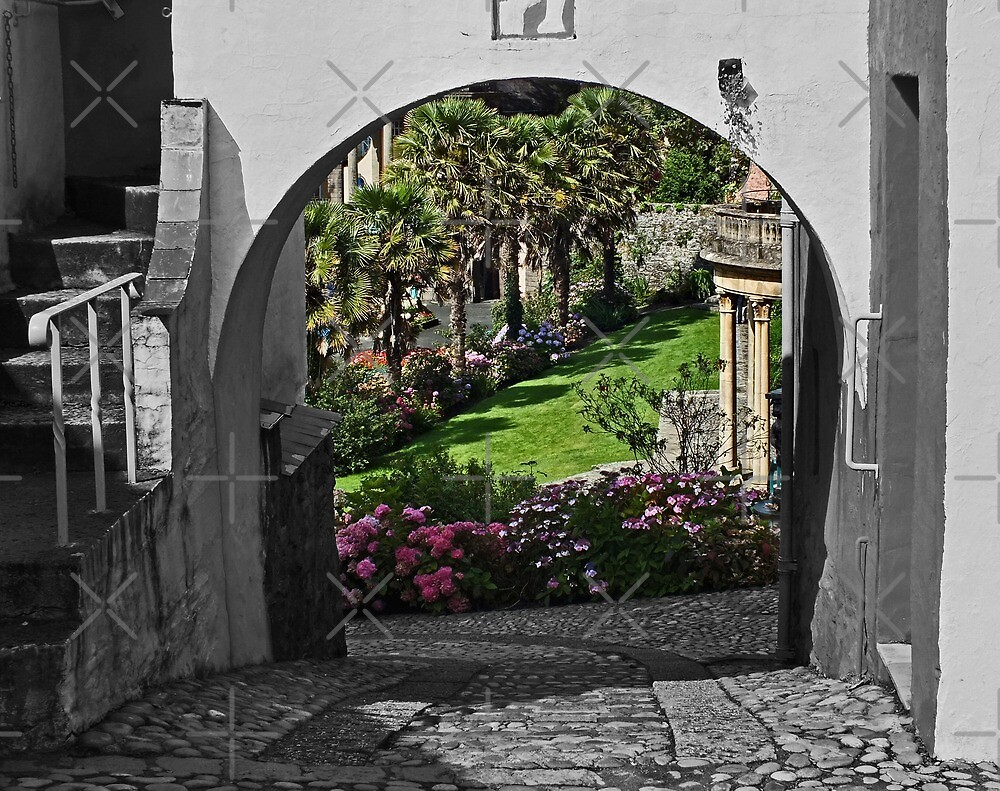 Italianate Garden by Yampimon