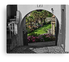 Italianate Garden Canvas Print