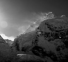 Sunrise from Everest Base Camp by lanesloo