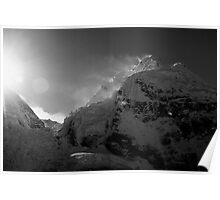 Sunrise from Everest Base Camp Poster