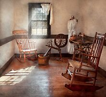 Sewing - Room - Grandma's sewing room by Mike  Savad