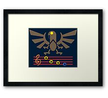Song of the Songbird (Alt version. No bolts) Framed Print