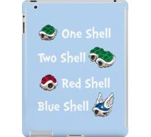 1 Shell 2 Shell iPad Case/Skin