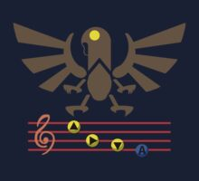 Song of the Songbird (Alt version. No bolts) Kids Clothes
