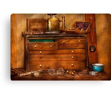 Carpentry - Tools - In my younger days  Canvas Print