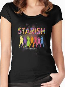 STARISH! (2) Women's Fitted Scoop T-Shirt
