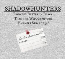 Shadowhunter Motto by Annie Ma