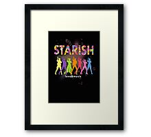 STARISH! (2) Framed Print