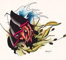 Lobster Reaper by spytattoodmt