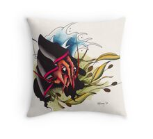 Lobster Reaper Throw Pillow