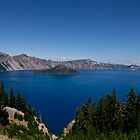 Crater Lake Oregon by LawrencePhoto